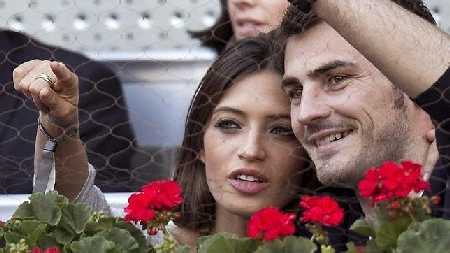 Sara Carbonero y Iker Casillas