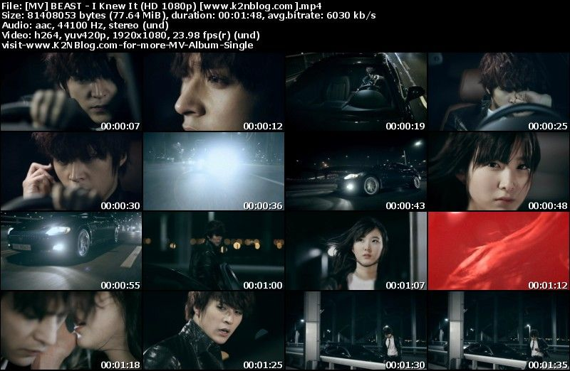 [MV] BEAST   I Knew It (HD 1080p Youtube)