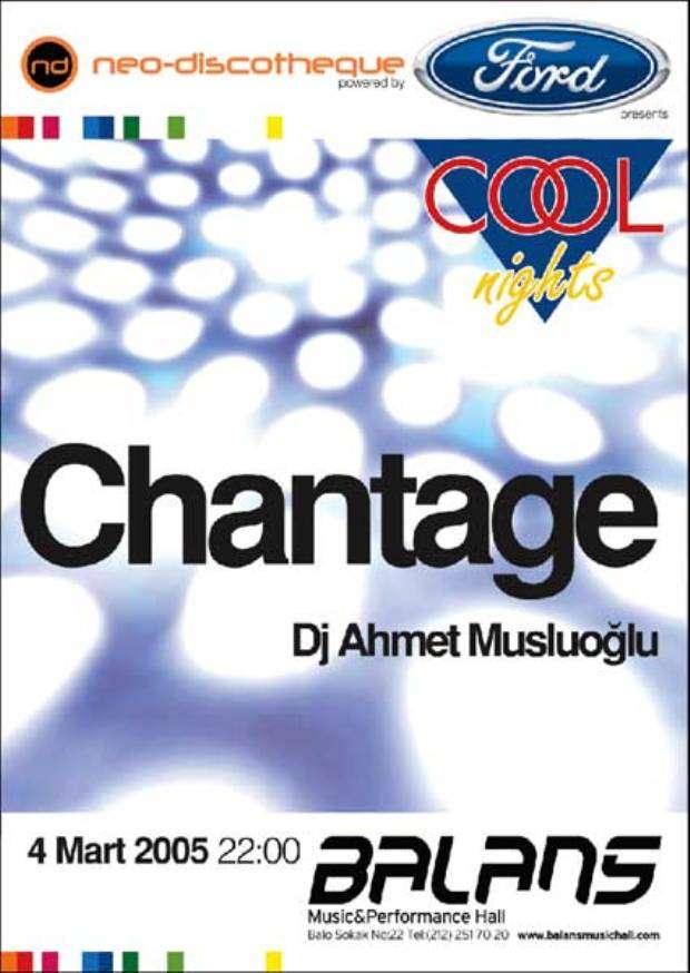 NeoDiscotheque Chantage