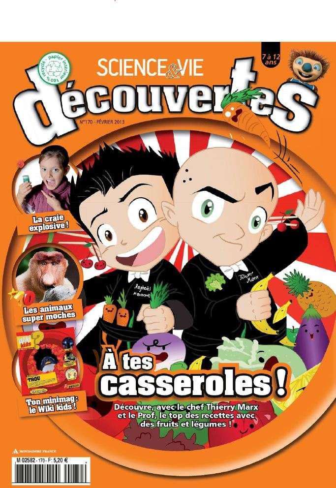 Science & Vie Découvertes N°170 Février 2013
