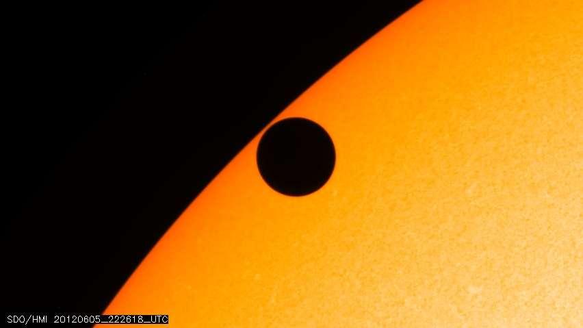 Venus transit: first NASA SDO Mission photos!, page 1