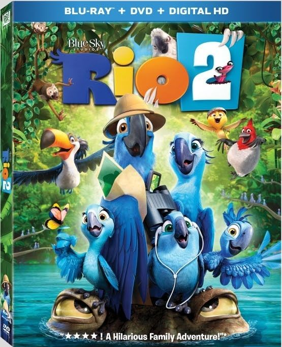 Rio 2 - 2014 BluRay 1080p x264 DTS MKV indir